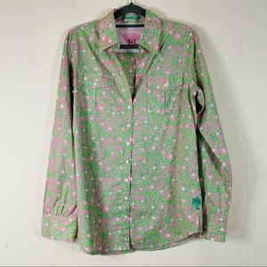 Lilly Pulitzer Resort Fit Button Down Shirt